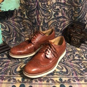 Men's 9.5 leather Cole Haan dress shoes new